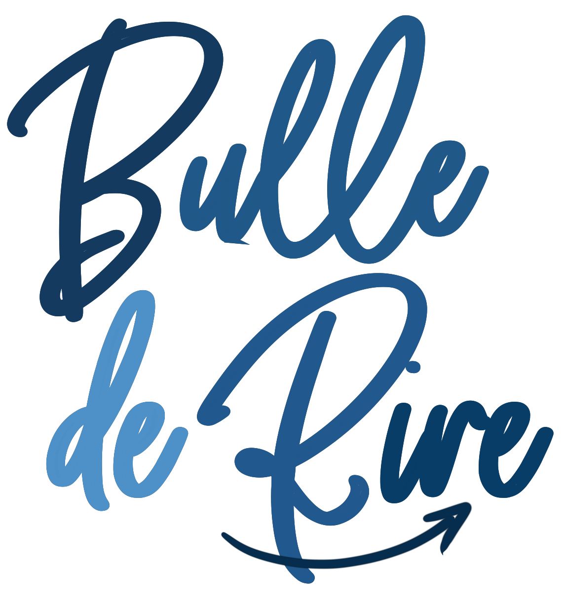 Bulle de rire Yoga du rire logo simple